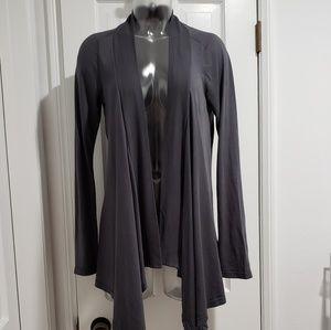 Splendid Lux Drapey Slate Gray Cardigan M